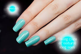 natural long nails femketje u0027s blog