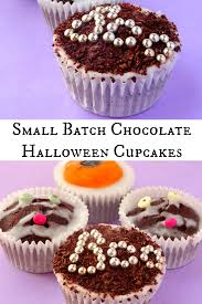 halloween cakes recipe small batch chocolate halloween cupcake recipe