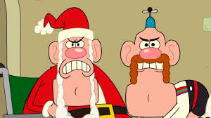 image uncle grandpa and santa claus in ug christmas special pt i
