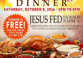 free prayer breakfast free community thanksgiving dinner