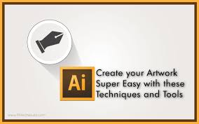 illustrator designing techniques create artwork super easy