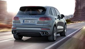 suv porsche 2015 4 1s 2015 porsche cayenne turbo leads refreshed lineup in usa from