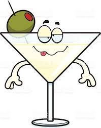 martini olive art drunk cartoon martini stock vector art 527764833 istock