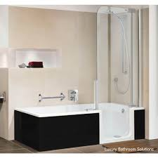 twinline 2 luxury designer artweger walk in acrylic bath