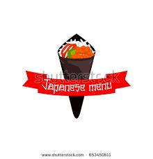 bar snack cuisine japanese restaurant sushi bar cuisine menu เวกเตอร สต อก 653450611
