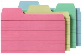index card template u2013 11 free sample example format download