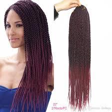 ombre crochet hairstyles havana mambo crochet senegalese twist braiding hair extensions