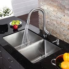 Kraus KHU Double Basin Undermount Kitchen Sink Walmartcom - Double bowl kitchen sink undermount