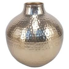 Ceramic Football Vase Brown Vases Target