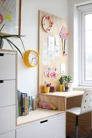 diy plywood kid s desk area and ikea hack ez s bedroom