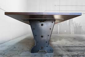 5 foot conference table 30 foot walnut steel conference table real industrial edge