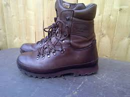 s army boots uk altberg brown high liability army issue brown boots army