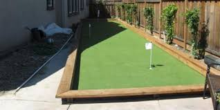 sharpen your stroke with a backyard putting green from polygrass