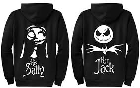 personalized and sally disney nightmare before
