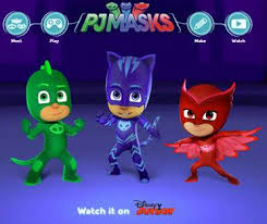heck bunch official pj masks website launches pjmasks