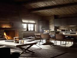 country living dining room ideas log cabin kitchen interiors