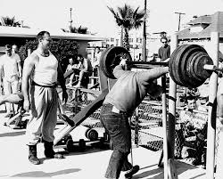 Who Invented The Bench Press The Bodybuilder Oliver Sacks U0027 Days On Muscle Beach Science Friday