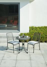 Stackable Mesh Patio Chairs by Contemporary Chair Stackable Wire Mesh Steel Portofino