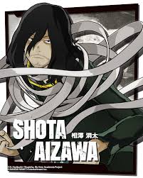 shota games hero academia one s justice shota aizawa art