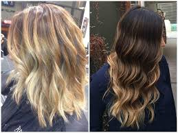 how long does hair ombre last 45 trendy blonde balayage and ombre highlights on brown hair 2017
