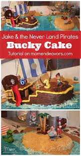diy bucky pirate ship cake tutorial jake and the never land