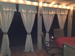 Stage Curtain Track Hardware by Best 25 Patio Curtains Ideas On Pinterest Outdoor Curtains
