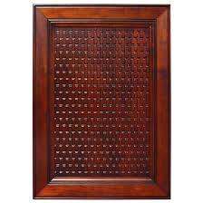 Kitchen Cabinet Door Panels by Door Inserts Solid Wood Basketweave Embossed Panel In Four