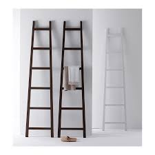 support vetement chambre repose vetement echelle inwood en bois massif