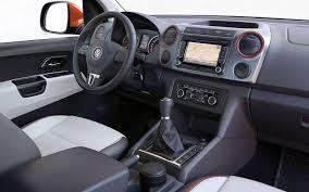 volkswagen pickup interior diesel duel chevrolet colorado vs volkswagen amarok