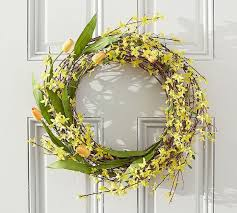 Tulip Wreath Beautiful Spring Wreaths You Can Buy Online Popsugar Home Photo 3