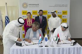 bureau de recrutement dubai le luxembourg est le premier pays à avoir signé pour l exposition