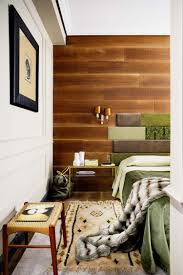Wood Paneling Walls Wood Paneling Wall Fabric Headboard Pieces Amys Office