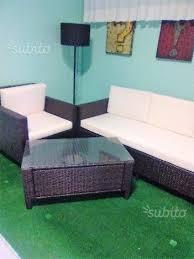 divanetti rattan set divanetti da esterno in rattan con tavolino giardino e fai