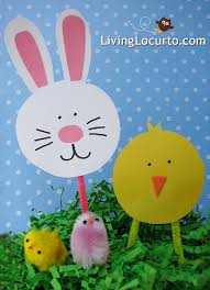Easter Bunnies For Decorations by Easter Paper Crafts For Kids Toilet Paper Roll Craft