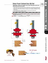 Kitchen Cabinet Door Router Bits Cabinet Door Router Bits 1 4 Best Home Furniture Decoration