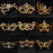 gold masquerade masks gold masquerade mask ebay
