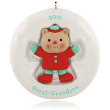 hallmark 2015 great grandson ornament qgo1287