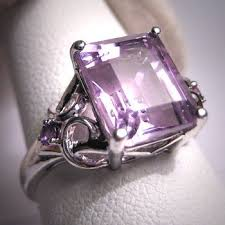 Amethyst Wedding Rings by Best 20 Vintage Amethyst Ring Ideas On Pinterest Amethyst And