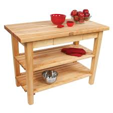 Kitchen Island Work Table by Kitchen Islands U0026 Tables Maple Top Kitchen Island With Maple Base