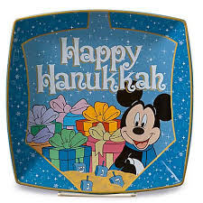hanukkah plate your wdw store disney happy hanukkah plate mickey mouse