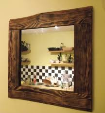 barn wood home decor mirrors made with reclaimed wood available to order to size