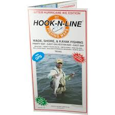 hook n line map f104 wade fishing east galveston bay with gps