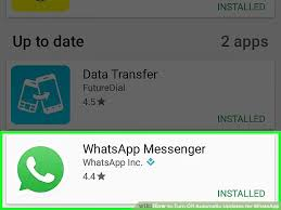 how to turn auto update on android how to turn automatic updates for whatsapp 9 steps