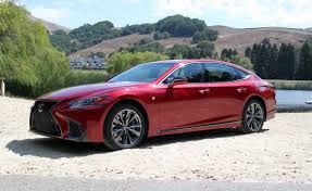 red lexus 2018 2018 lexus ls 500 review autoguide com news