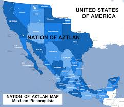 mexico map 1800 illegal immigration horde aryanity