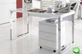 designer schreibtisch wei design schreibtisch tina hochglanz klavierlack weiss 140x70x76cm