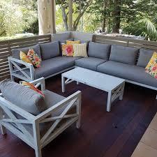 hampton 4pc sofa setting aluminium outdoor lounges