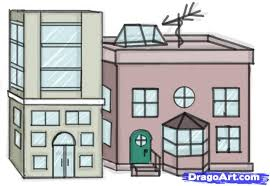 how to draw a building step by step buildings landmarks