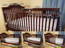 Crib Converter How I Made My Crib We Bought Two Baby Cribs Of The Same Color And