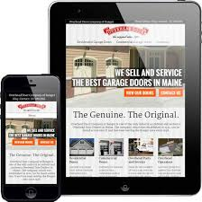 Overhead Door Bangor Maine Web Design Portfolio Custom Designed Websites In Bangor Maine